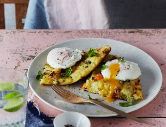 Bubble and Squeak recipe with Poached Egg