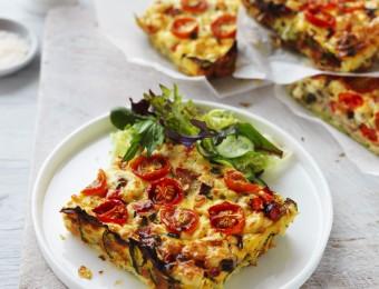 Vegetable and Ham Slice