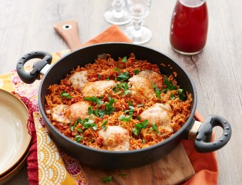 Chicken and Tomato Pilaf
