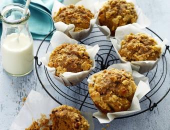 Cinnamon Crumble Muffins Recipe