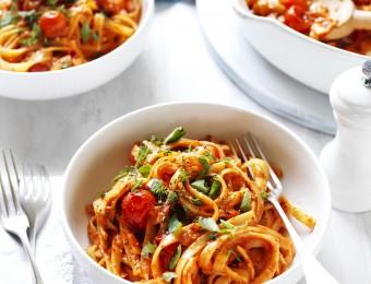 Creamy Tomato and Herb Fettuccine Vetta recipe