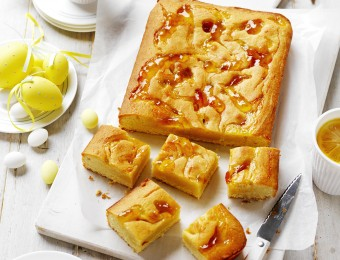 Almond And Marmalade Blondie