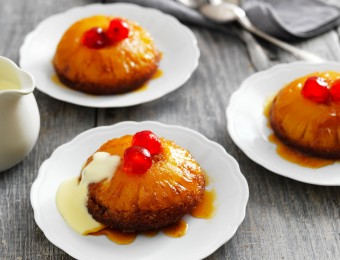 pineapple upside down cakes from scratch