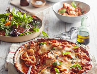 Baked Mozzarella Tortellini Pasta Recipe