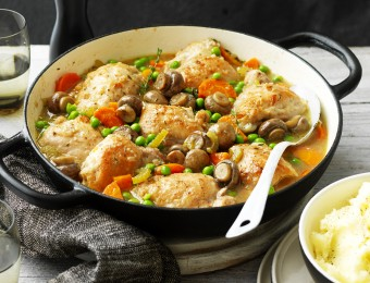 One-Pot Chicken and Mushroom Casserole Recipe