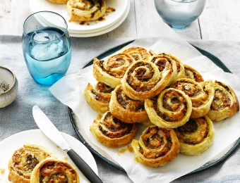 Mushroom and Pork Pinwheels Recipe