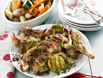BBQ spatchcock Chicken recipe