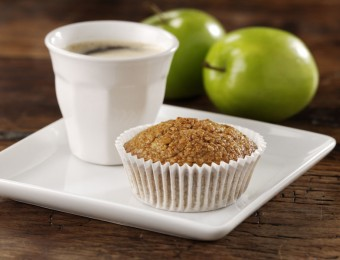 Lowan Oat Bran & Apple Muffins