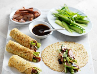 Peking Duck Crepe Wraps
