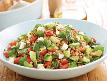 Avocado and lentils recipe