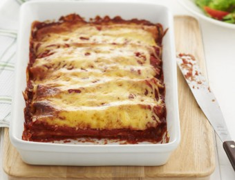 Really Easy Pumpkin and Ricotta Cannelloni recipe
