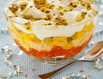 Mango and Passionfruit Trifle
