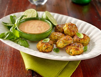 Fish Cakes with Chilli Lime Sauce