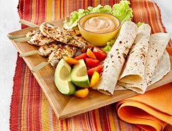 Peri Peri Chicken with Charred Tortillas