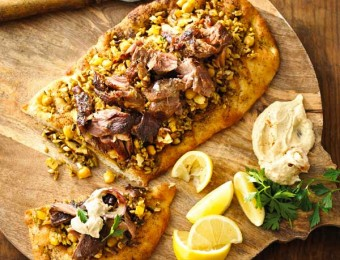 Middle Eastern Spiced Rice with slow cooked Lamb shoulder