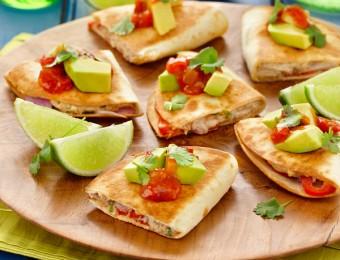 Tuna And Lime Quesadillas Recipe
