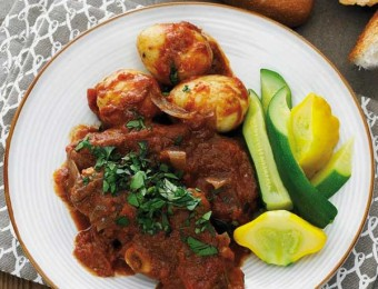 Slow-Cooked Spiced Lamb