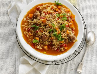 Paprikash Rice