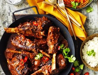 Spicy Vindaloo Beef Ribs