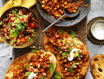 Beef Mincemeat recipe with Chickpeas
