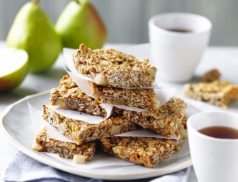 Pear and Oat Slice