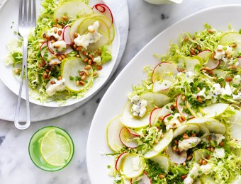 Pear and Brussel Sprout salad Recipe
