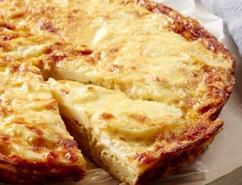 Potato, Mozzarella and Caramelised Onion Frittata