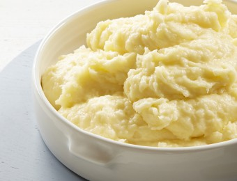 Cheesey Garlic Potato Mash