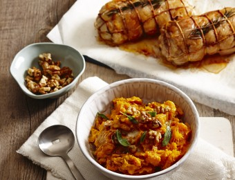 Roasted Pumpkin and Walnut Mash Recipe