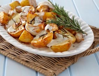 Rosemary Roast Potato Salad