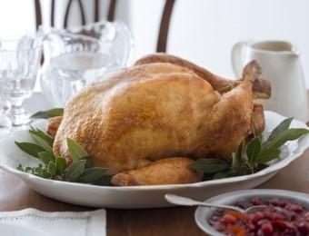 Traditional Brined Roast Turkey