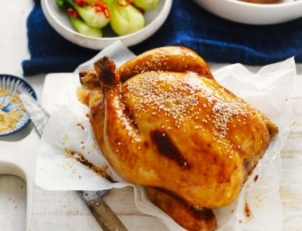Winter roasts don't get better than this simple roast chicken recipe with roast chicken cooking time.