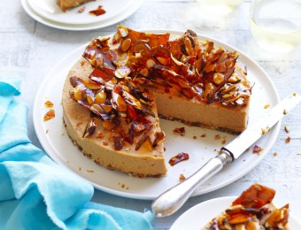 Sweet Potato Vegan Cheesecake