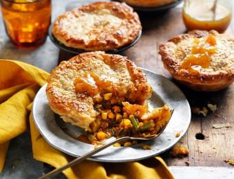 Easy Tikka Masala Curry Vegetarian Pies