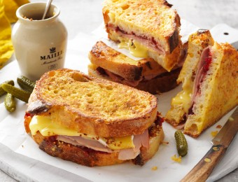French toast recipe with leftover Christmas ham