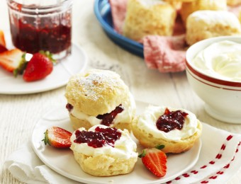 Buttermilk and Vanilla Bean Scones