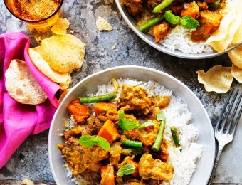 Easy Beef Korma Recipe with Vegetables