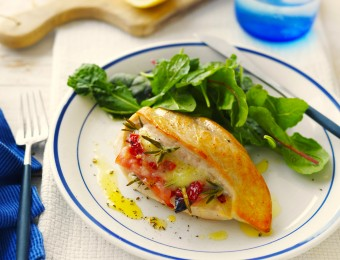 Cheese stuffed chicken breast recipe