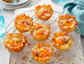 Hash brown recipe with ham and egg