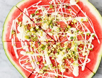 Easy Watermelon Pizza