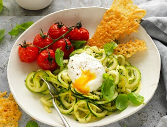 Zoodle and Egg Salad