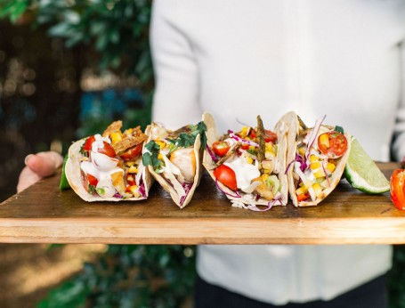 Grilled Barramundi Tacos recipe