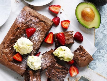 Decadent Avocado Brownie Recipe