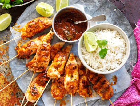 Butter Chicken skewers