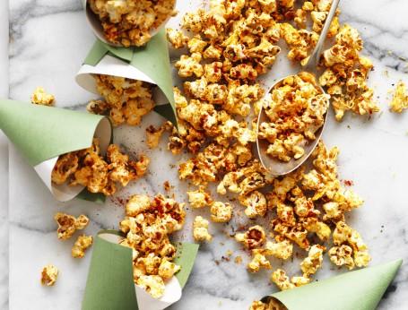 Recipe for Pizza Popcorn