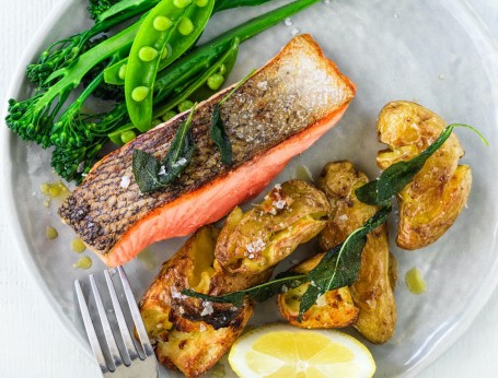 Crispy Skin Salmon recipe