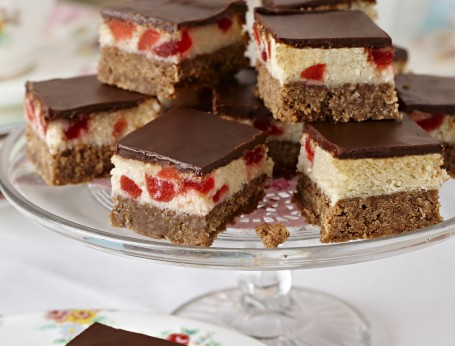 Cherry Ripe Slice by Cadbury Kitchen