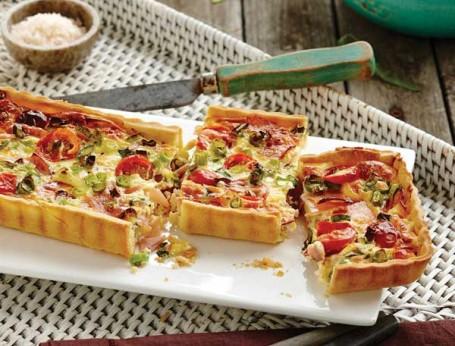 Ham and Cherry Tomato Tart