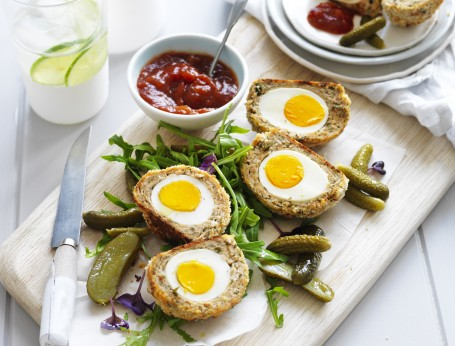 Easy Baked Scotch Eggs