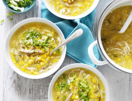 How to make Sweet Corn and Chicken Soup recipe